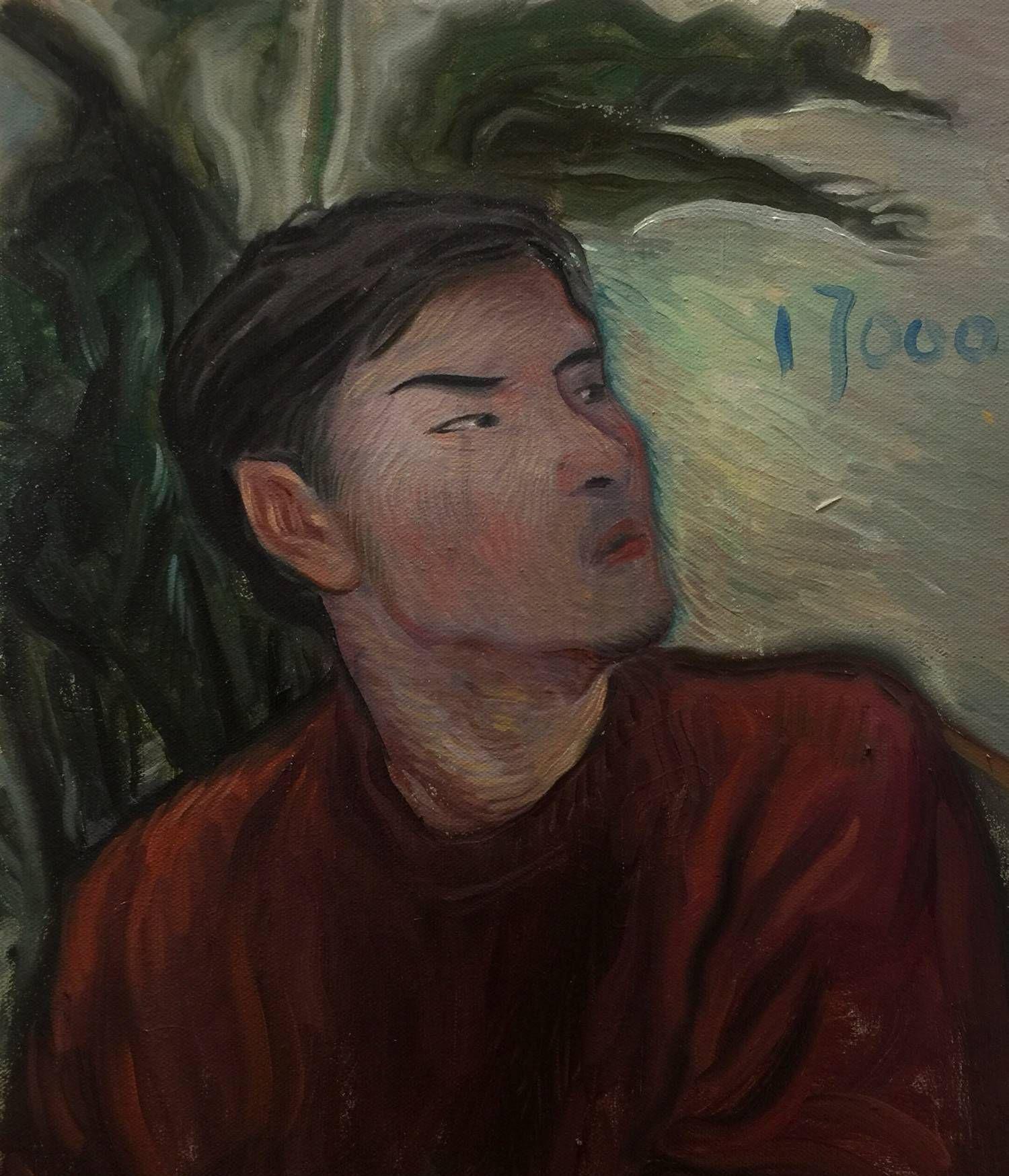四川美术学院毕业生邢万里的创意绘画作品欣赏