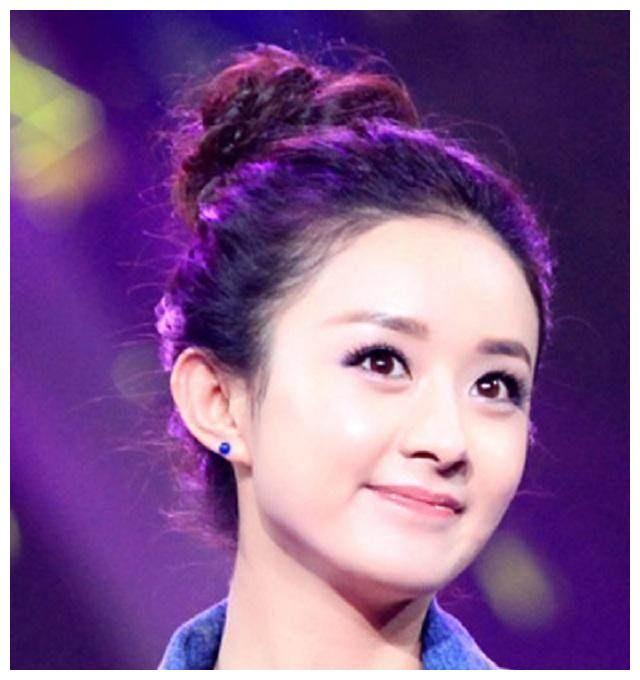 女星们丸子头,杨幂优雅美丽、林依晨仿佛18岁,她却成为笑柄!