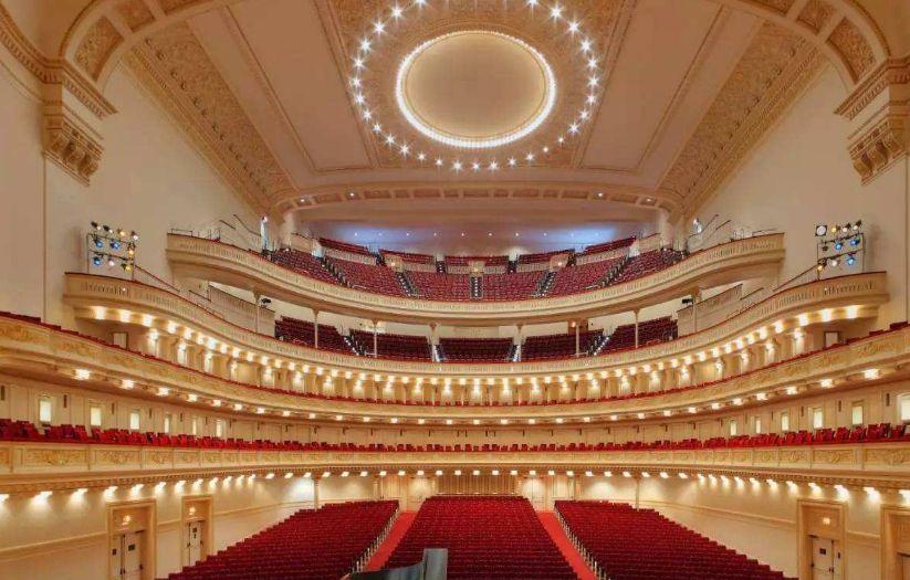 卡内基音乐厅——置身于此,未听弦动,也已陶醉!