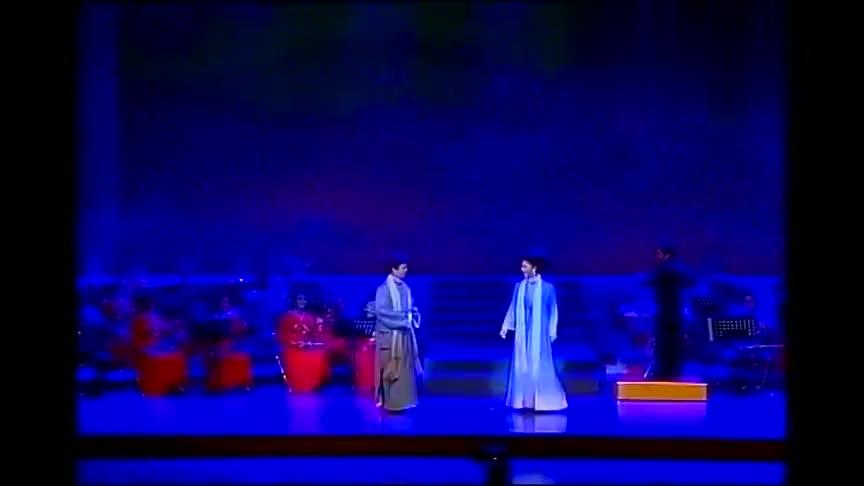 黄新德陈小芳经典黄梅戏《海滩别》老搭档再聚首 ,声情并茂演出