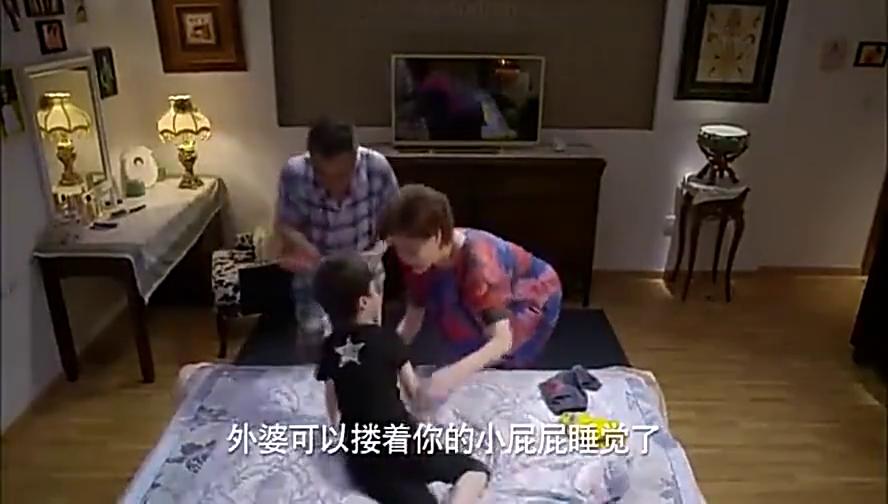 淘气爷孙:孙子和爷爷很搞笑