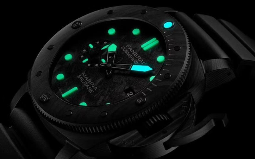 VS厂复刻潜水表沛纳海潜行系列PAM979腕表碳纤维表壳