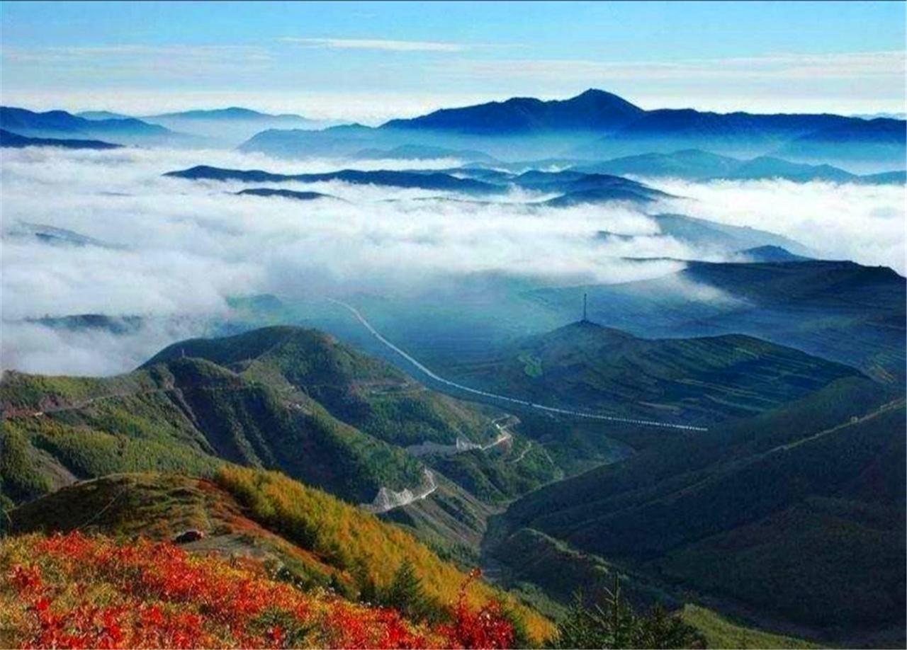 登六盘山,观赏斑斓秋色,寻觅历史真迹