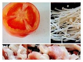 酸辣过瘾的番茄金针菇肥牛煲,好吃不胖的低脂餐,你值得一试!