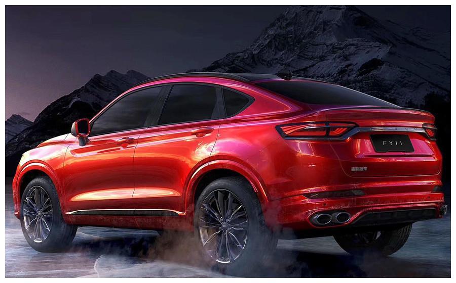 吉利旗下新轿跑SUV,沃尔沃发动机,会不会成为国产主力军?