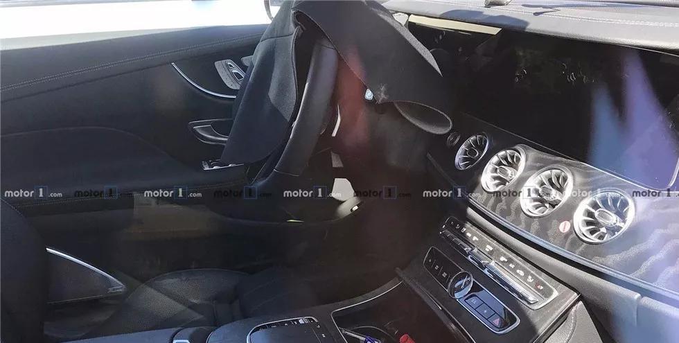 轿跑就应该长这样,奔驰新款E级Coupe谍照曝光