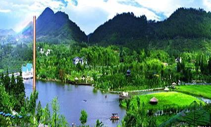 安吉中南百草园,一个满是竹林的生态园区,深山里的天然氧吧