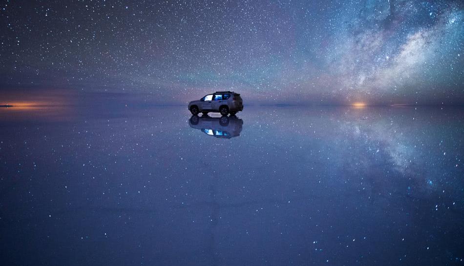 世界上最唯美浪漫的婚纱圣地-玻利维亚乌尤尼天空之镜
