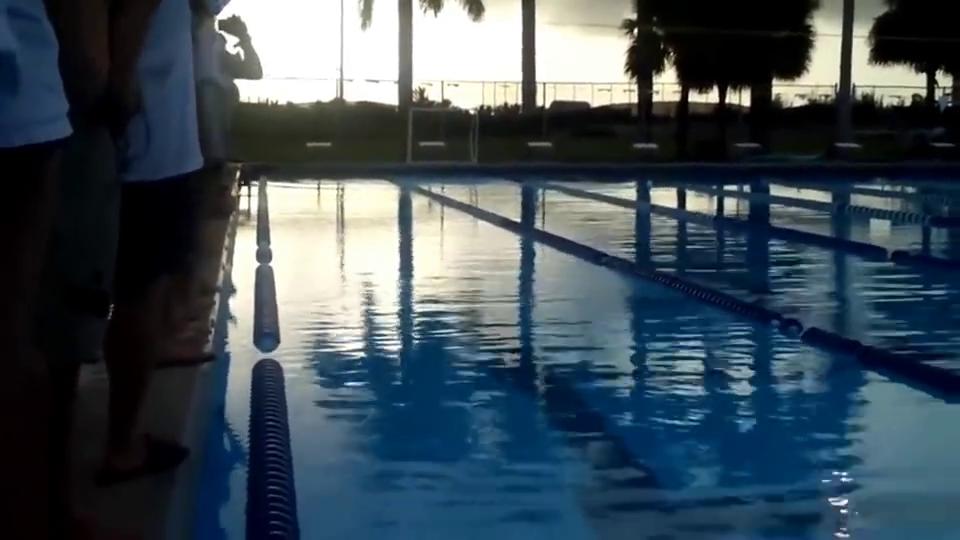【游泳精选】游泳运动员罗切特水下50m反蝶腿