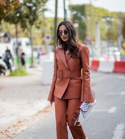 一组潮流街拍,漂亮的美女,时髦的服装