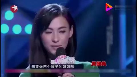 张柏芝惊喜亮相,自爆儿子看见自己吻戏跟谢霆锋告状