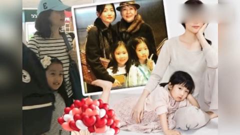 48岁李英爱携女儿看舞台剧,女神保养太好没有皱纹女儿颜值超高