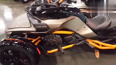 2019款庞巴迪Spyder F3-S实车展示三轮界超跑颜值爆表