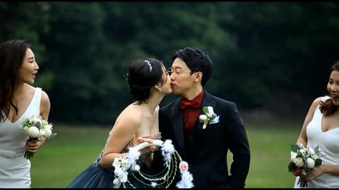奥运冠军邹凯今日大婚 何雯娜何可欣当伴娘