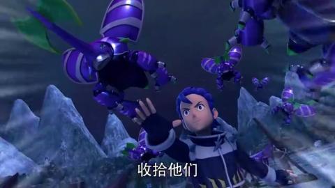 星兽猎人:西亚内心太恐惧,和爆炸兽交战,好几次都分神了