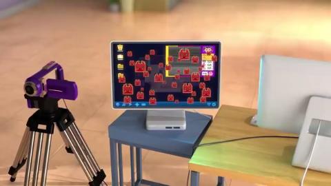 超级飞侠:乐迪带着允儿,进入了虚拟电脑世界,看到了很多病毒