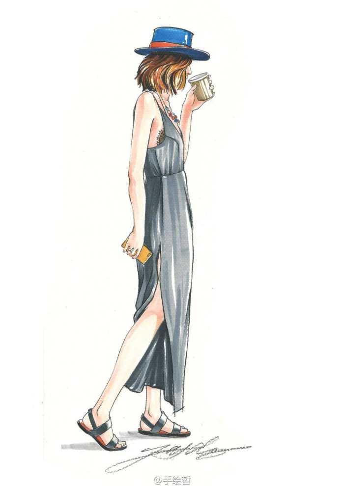 街拍:爱运动的小姐姐身材比例非常完美
