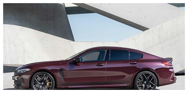 最快3秒破百!宝马M8 Gran Coupe发布:剑指保时捷Panamera
