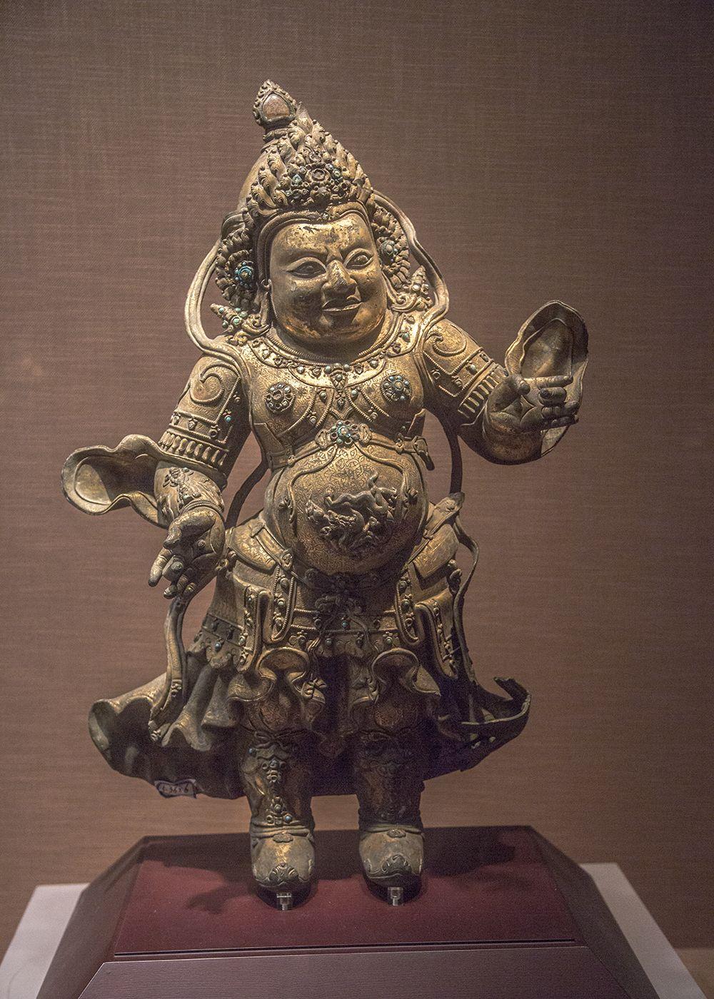 """元代尊崇藏传佛教,这一时期可称为藏传佛像艺术的""""转型期"""""""