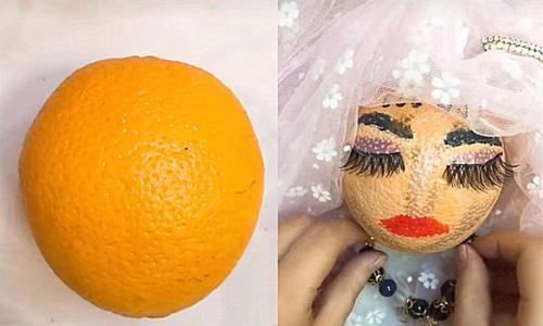 """美术生给""""水果""""换装?橙子没啥,西瓜没啥,看到芒果:一眼沦陷"""