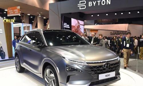 新能源汽车现代NEXO,现代氢燃料电池车登场