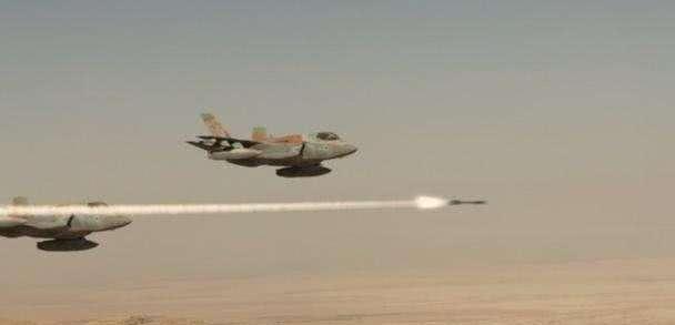 以色列多架F35越境偷袭 俄军苏35战机紧急升空 10分钟后分出高下