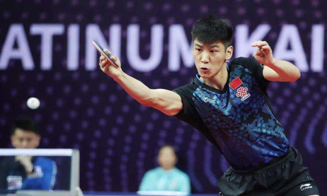 国乒4大男队选手晋级,向鹏击败日本名将,薛飞横扫上田仁