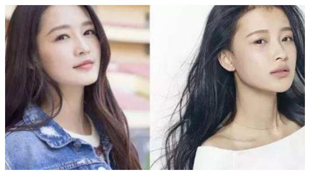 都说李沁和孙怡像双胞胎,但当两人一同框,突然就不那么像了!