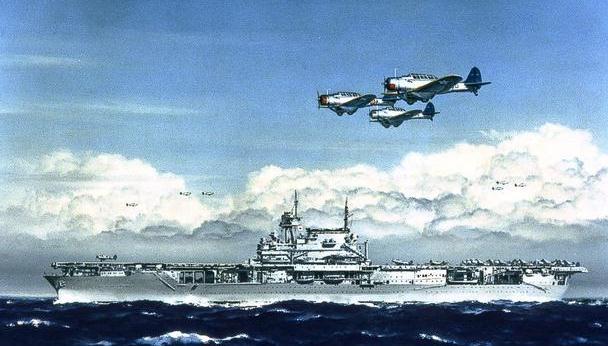 """二战兵器全集 太平洋美国海军航空兵的代表,""""企业""""号航空母舰"""