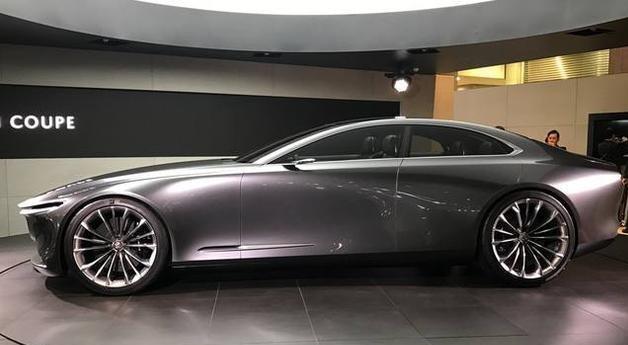 马自达又一款帅到漏油的车型,兰博基尼发布时就是这样的感觉