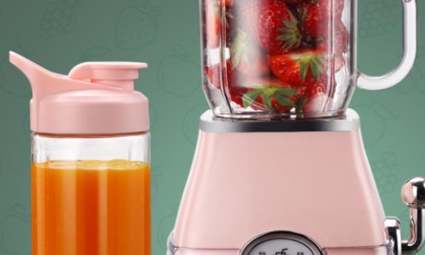 夏天怎么能少了榨汁机,新鲜果汁说来就来,方便又实用