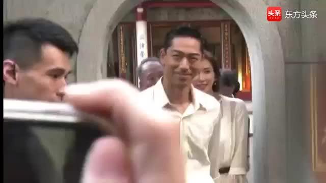 林志玲婚礼主持人曝光 16年前华冈艺校学生出任 老师1句话改