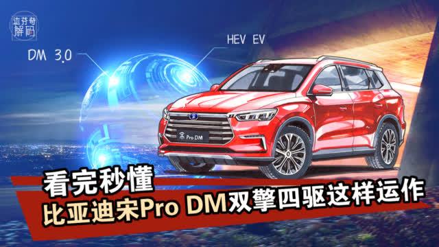 5种驾驶模式,比亚迪宋Pro DM如何随意切换?