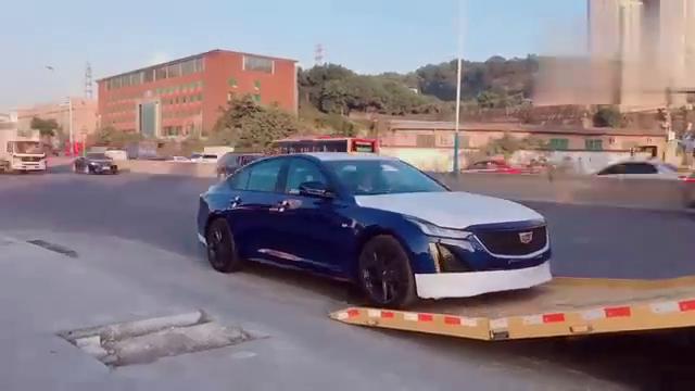 视频:你的汽车已经到货,凯迪拉克ct5你
