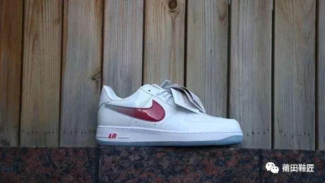 """空军一号Nike Air Force 1""""Taiwan""""真假对比"""