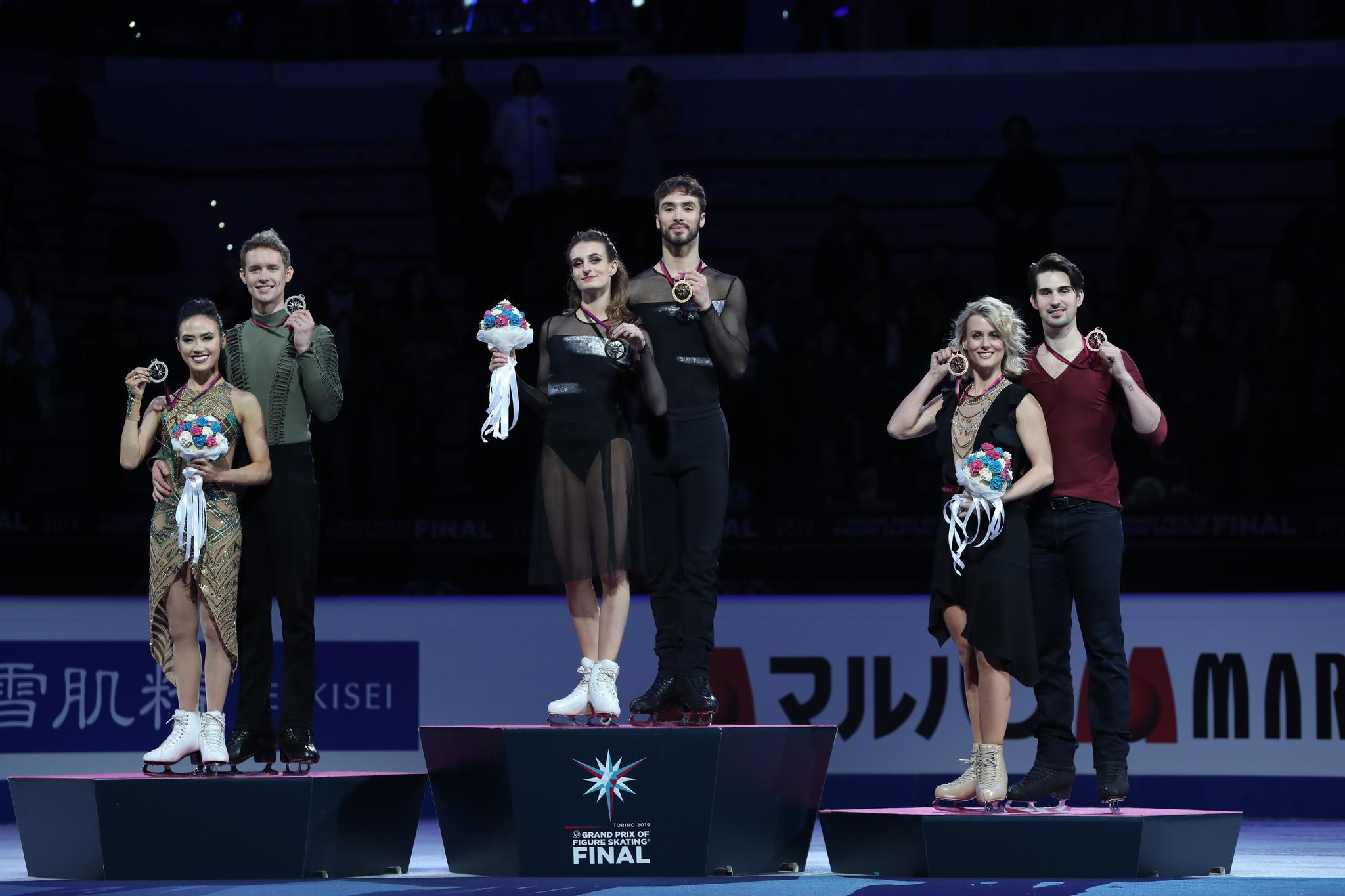 花样滑冰——大奖赛总决赛:冰舞赛况