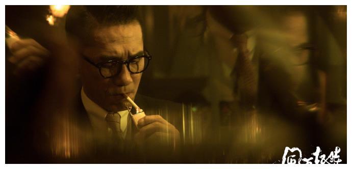 翁子光执导电影风再起时发布全新剧照,郭富城梁朝伟造型亮相。