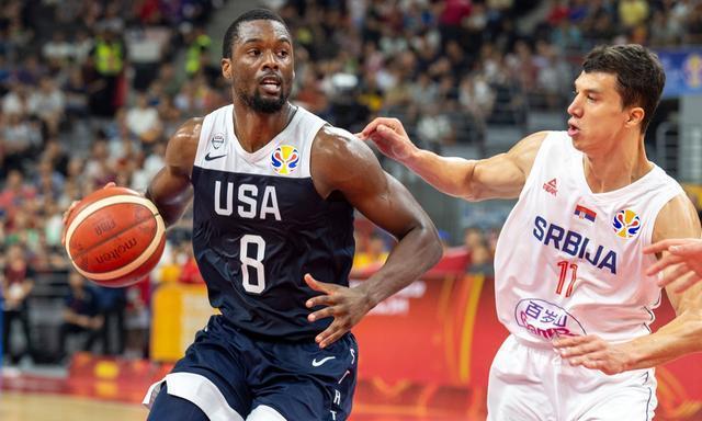 篮球世界杯:美国男篮输了天塌了?波波维奇却笑了,他的收获最大
