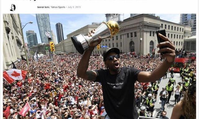 雅虎:莱昂纳德不是NBA大反派不选湖人没问题他影响力超詹姆斯