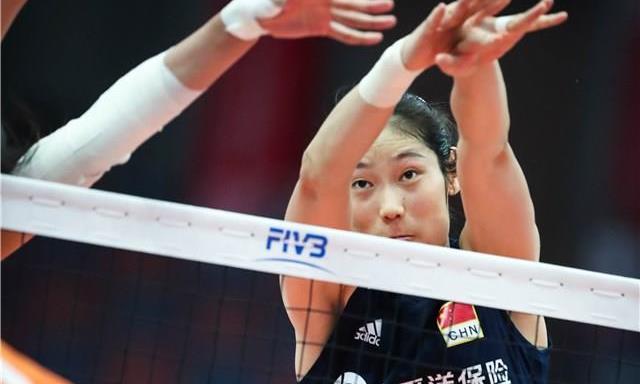 一个能打的都没有!中国女排3-0荷兰豪取9连胜朱婷22分李盈莹1分