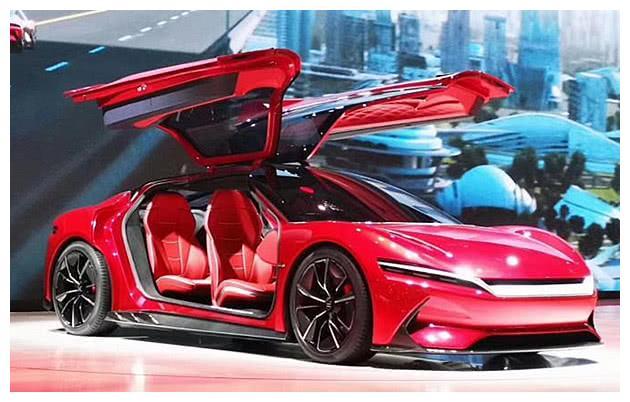 比亚迪再现国产神车,超跑造型完胜特斯拉,或40万成土豪新玩具