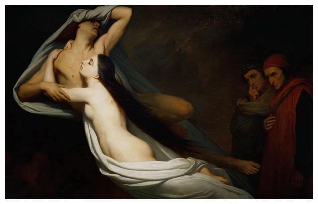 法国浪漫主义画家 阿里·谢弗Ary Scheffer