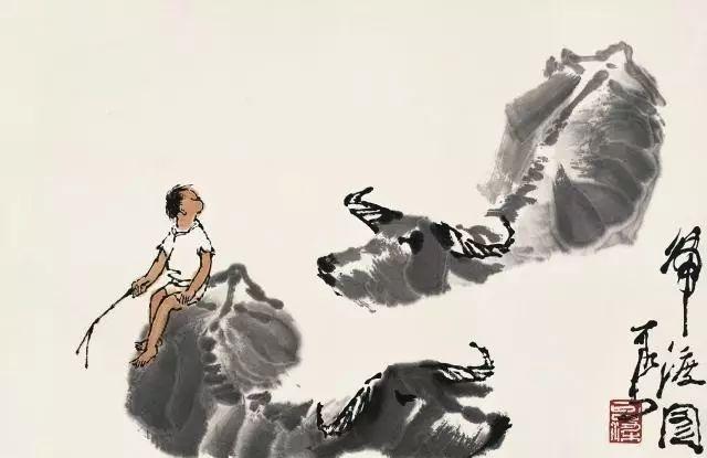 看看画家李可染,俯首甘为孺子牛