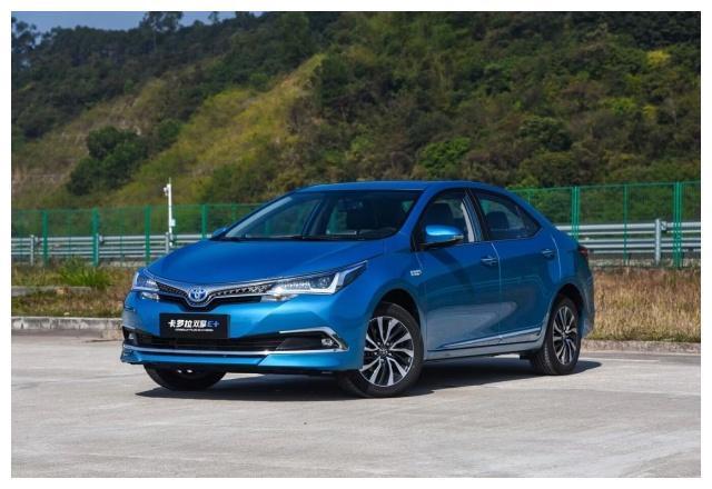 丰田全新卡罗拉来了!混合动力配置,享受绿牌政策
