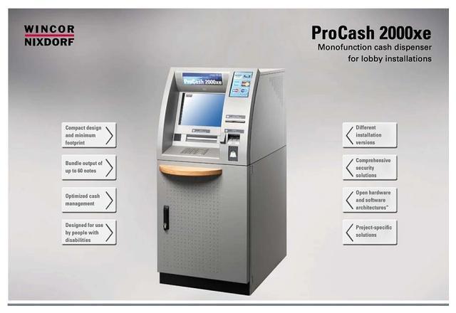 恶意软件可让ATM机按需吐出所有现金