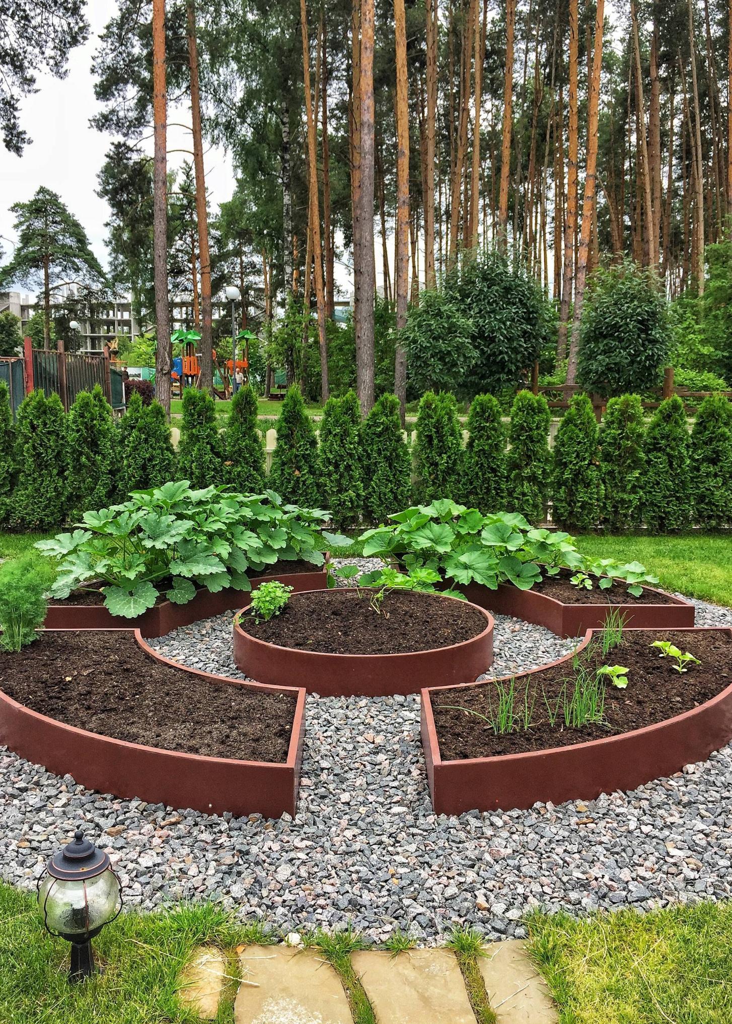 2019年的菜园设计趋势:景观式种菜,从此你的菜地就是你的花园图片