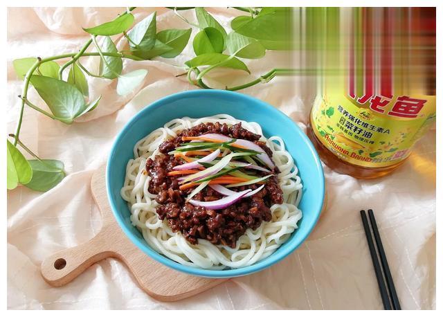 豆干炸酱面 金龙鱼营养强化维生素A 新派菜油