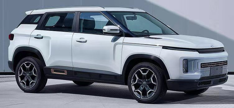 吉利全新SUV-icon谍照曝光!外观高度还原概念车,有望年内上市