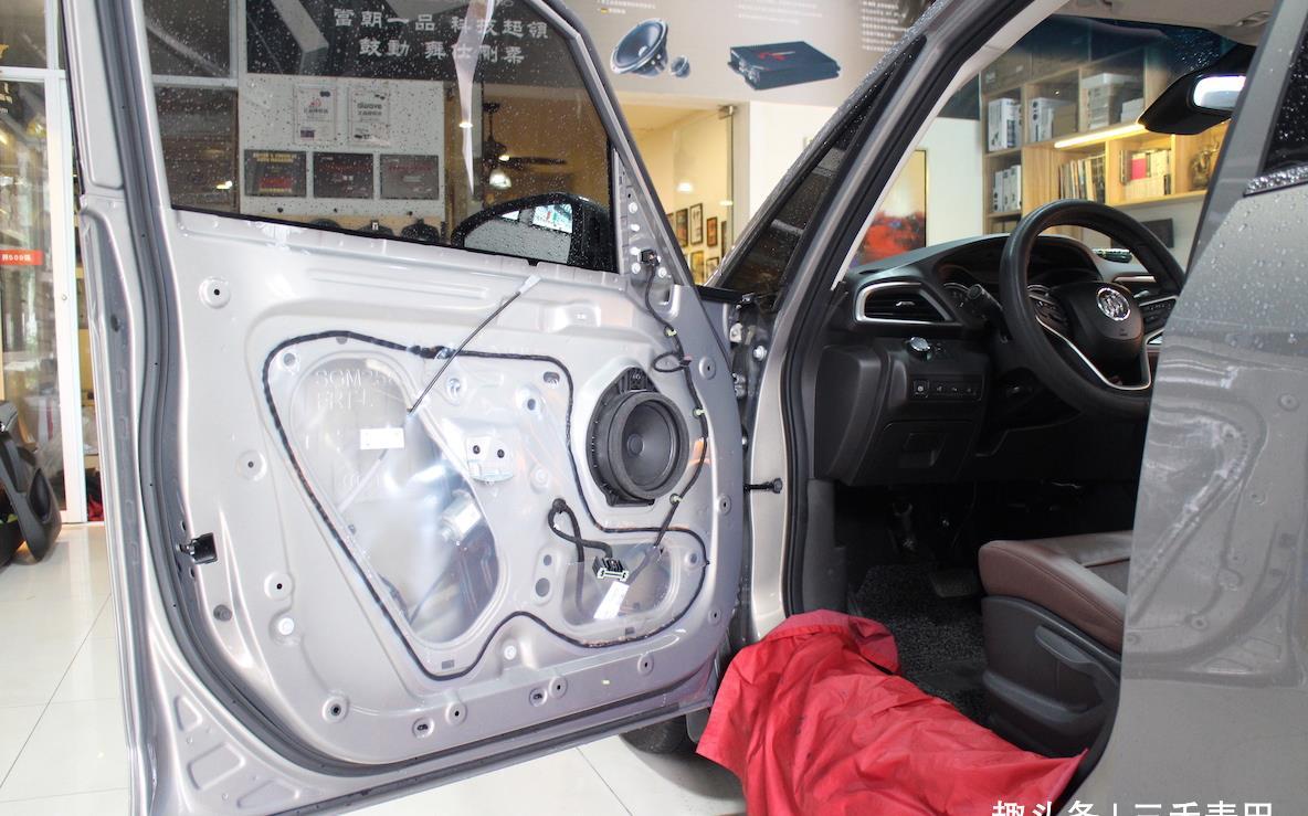 别克GL6汽车音响改装——成都三禾麦田汽车音响