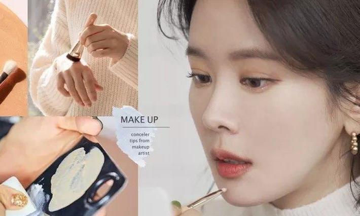 彩妆师分享不同肤质法的实用遮瑕技巧!遮瑕更清透贴肤